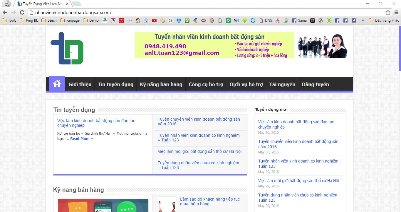 website nhan vien kinh doanh bat dong san